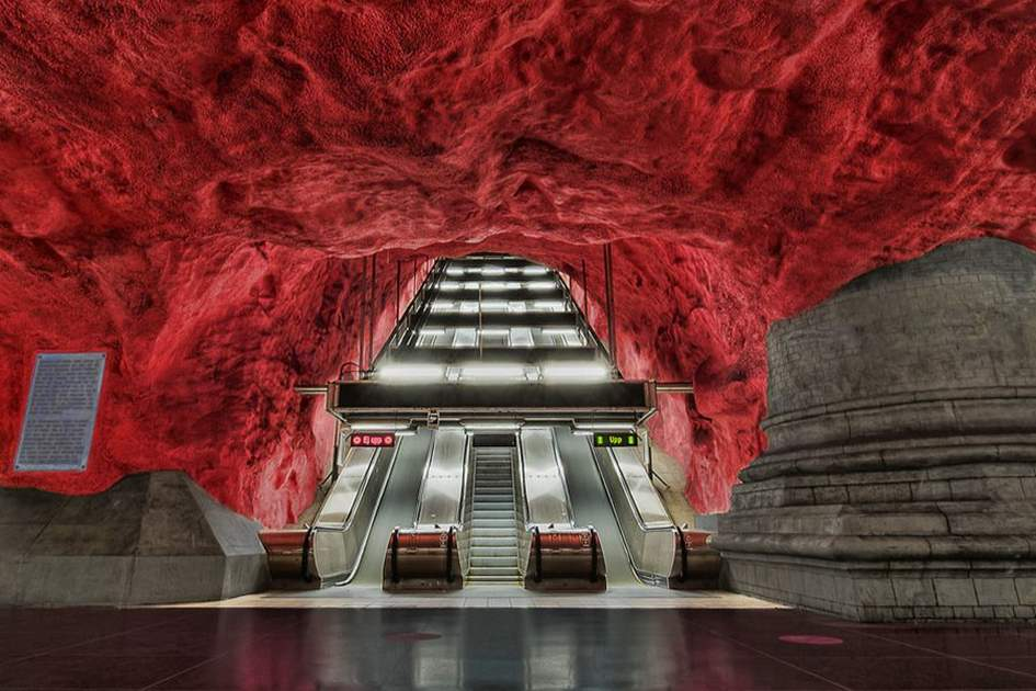 Court House metro station, (photo by Tobias Lindman with thanks)