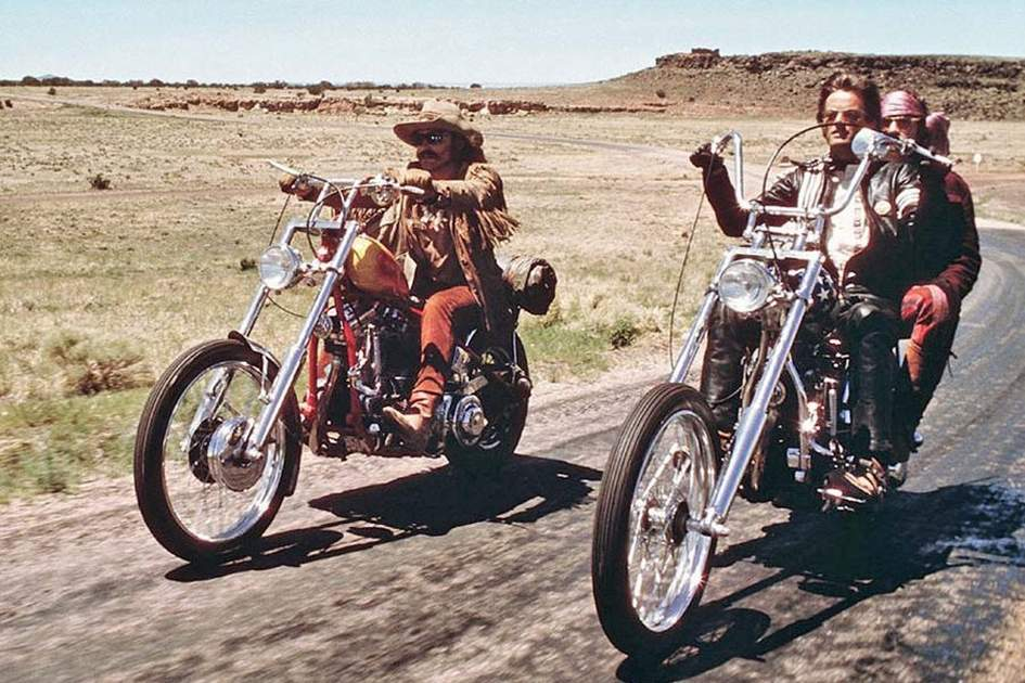 Easy Rider, (photo by Universal Pictures)