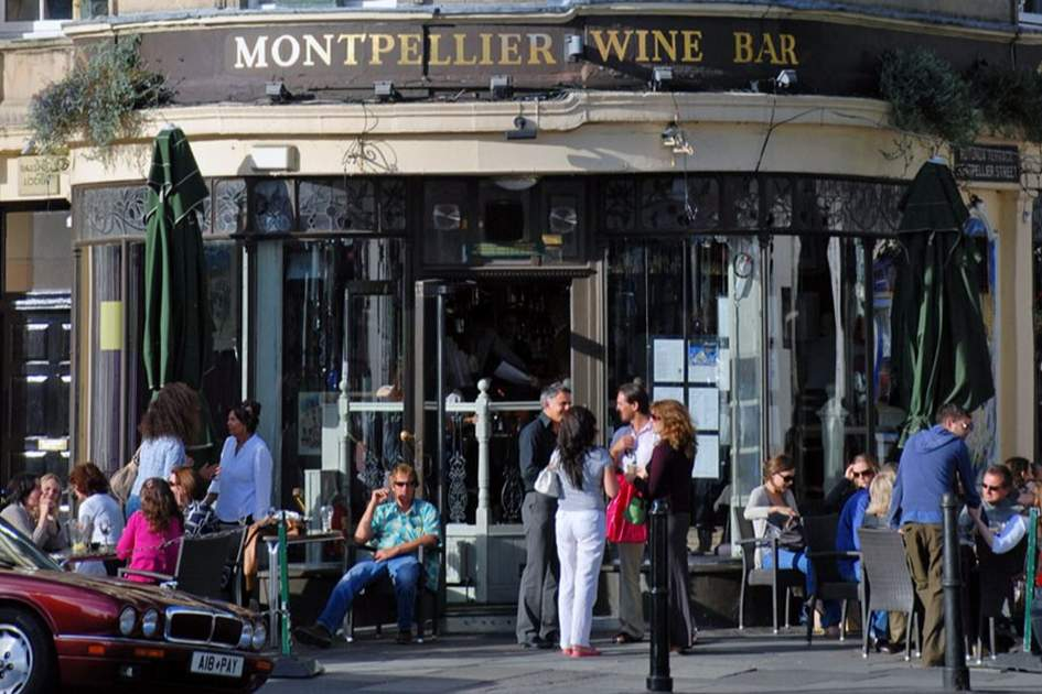 Montpellier Wine Bar, (photo by Tony Halliday)