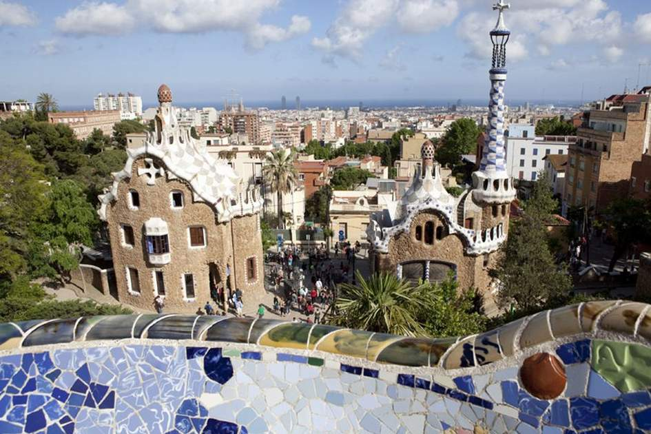 Park Guell, (photo by Corrie Wingate)