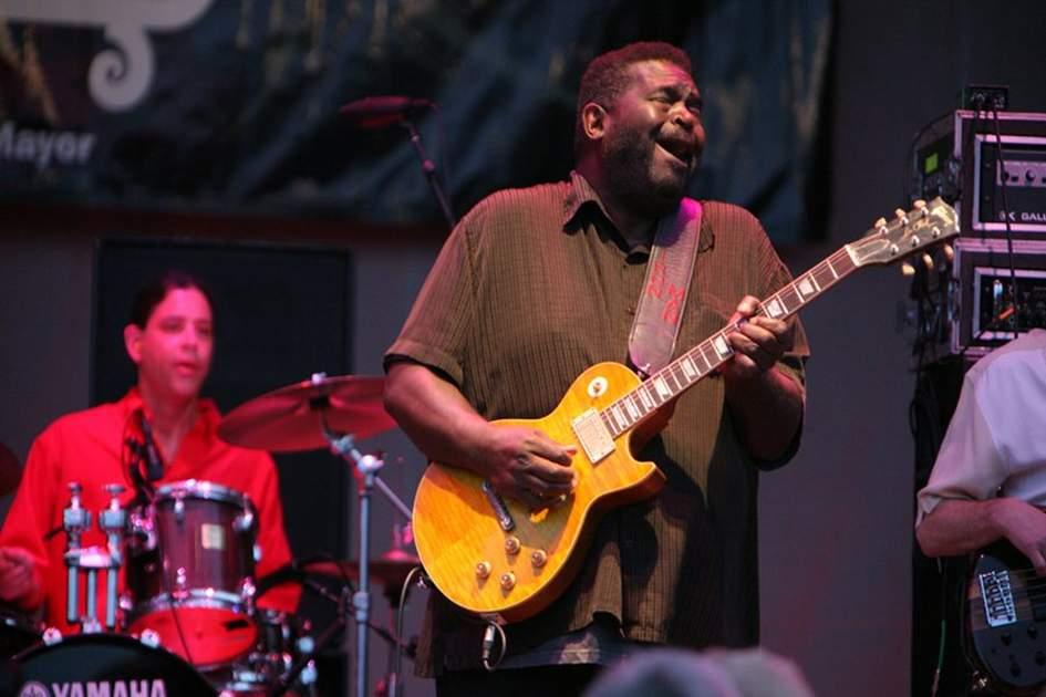 Chicago Blues Festival, (photo by David Dunai)
