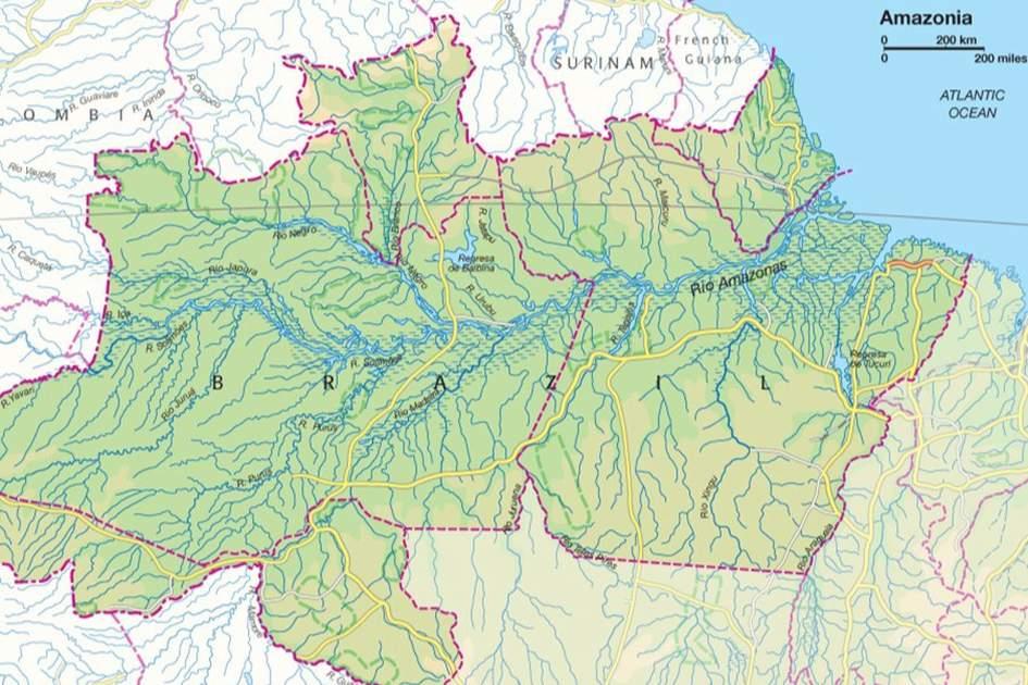 Amazonia, (photo by Apa Cartography Dept.)