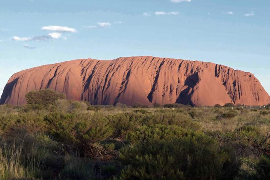 Uluru, (photo by Glyn Genin)