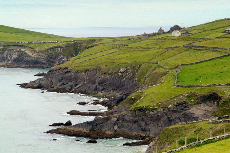 Slea Head on the Dingle Peninsula, where Ryan's Daughter was filmed, (photo by Glyn Genin)