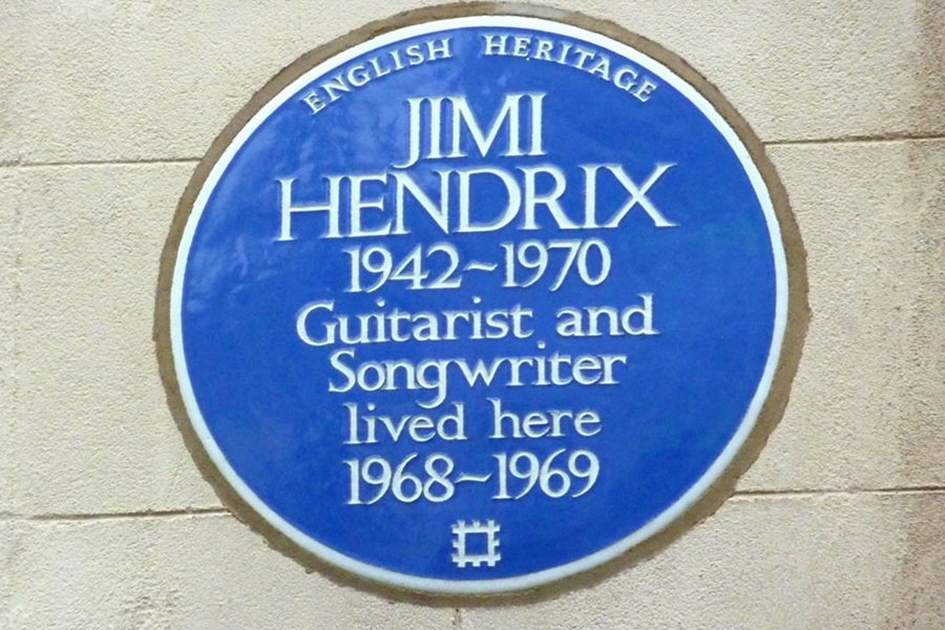 Blue plaques lived here 1866-2013, (photo by James Macdonald)