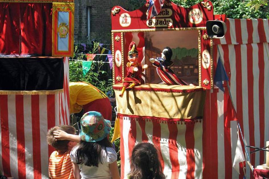 Punch and Judy Festival in Covent Garden, (photo by James Macdonald)
