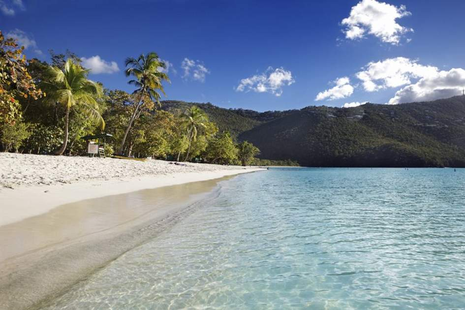 Magens Bay in St Thomas, one of the US Virgin Islands, (photo by Jo Ann Snover)