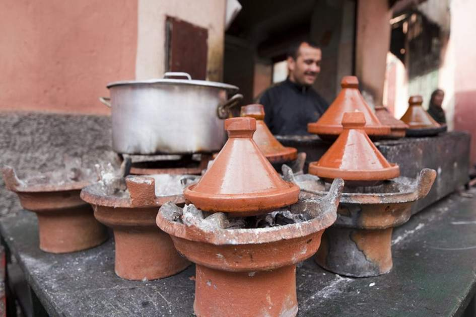 Tagines, (photo by Ming Tang-Evans)