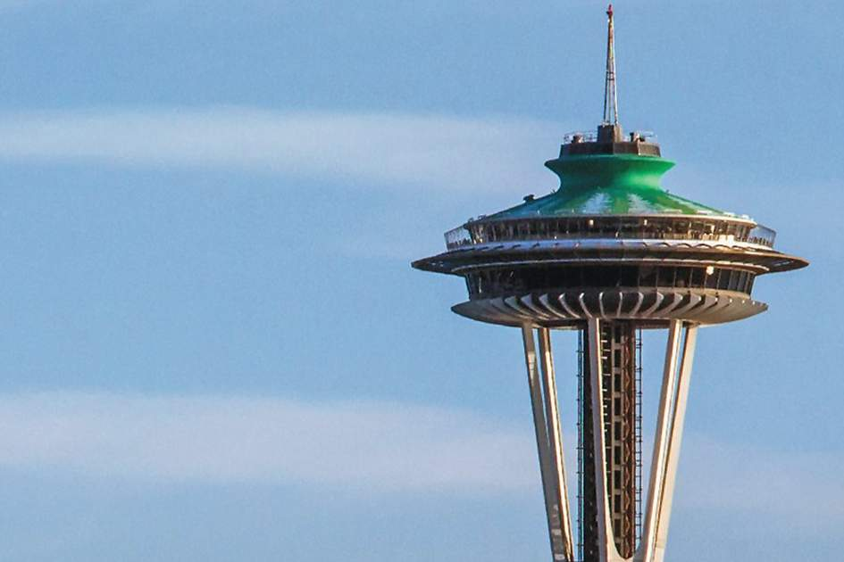 The Space Needle, (photo by Nathaniel Gonzales )