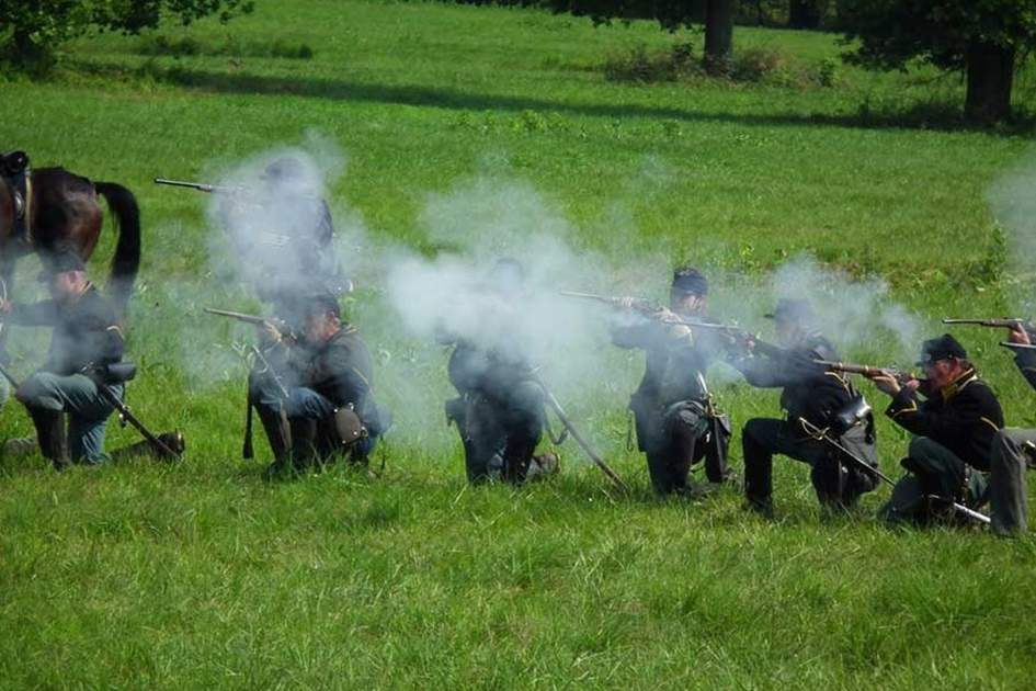 From the 150th anniversary of the Battle of Gettysburg, (photo by S Pakhrin)