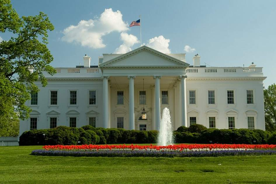 The White House, Washington, DC, (photo by R Nowitz)