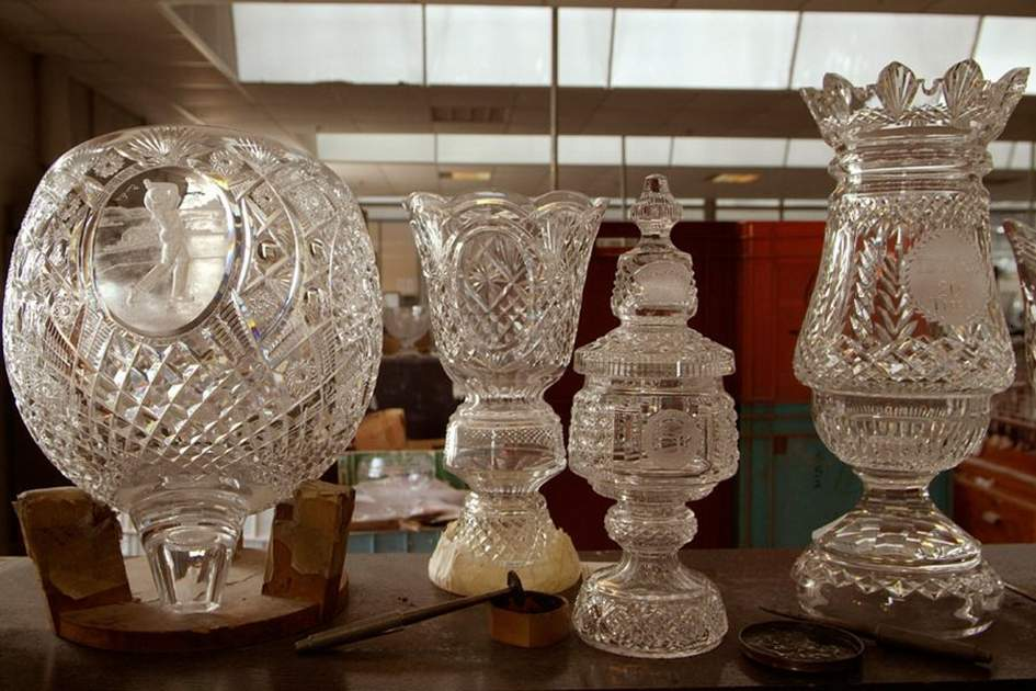 Waterford crystal, (photo by Corrie Wingate)