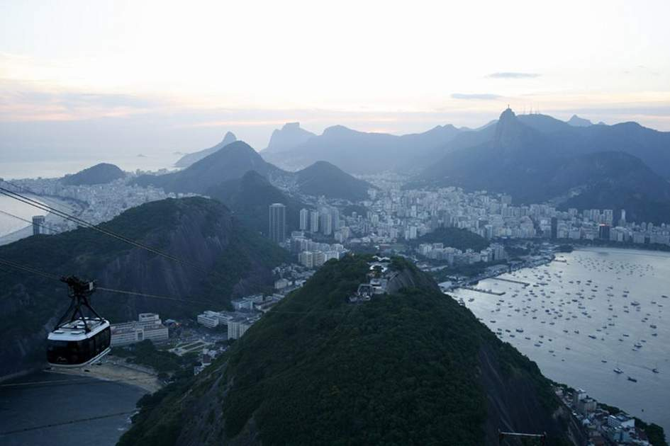 View over Rio Janeiro, (photo by Yadid Levy)