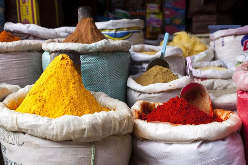 Spices, (photo by Ming Tang-Evans)