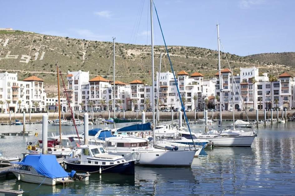 Agadir Marina, Morocco, (photo by Ming Tang-Evans)