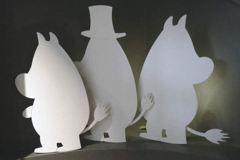 The Moomins, a Finnish icon, (photo by James Macdonald)