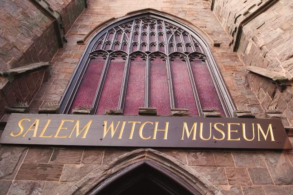 Salem Witch Museum, (photo by Abe Nowitz )