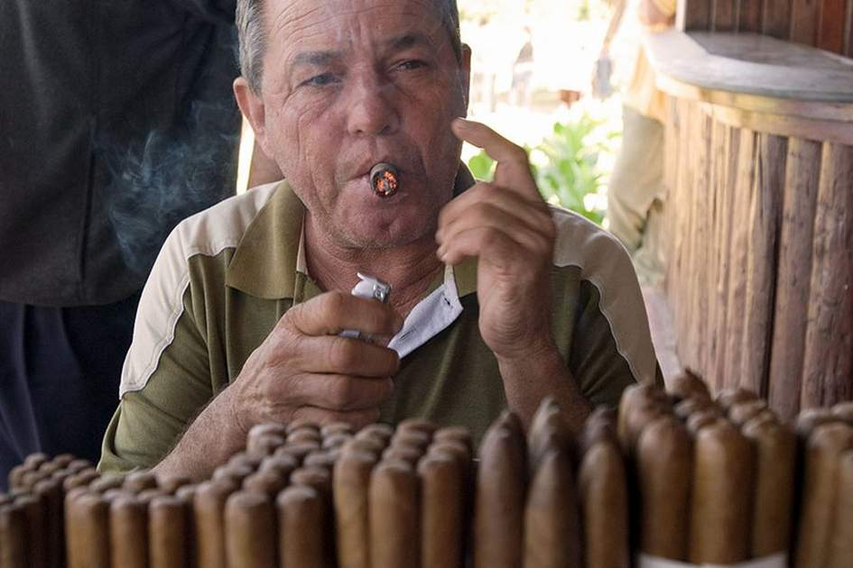 Cuban Cigars, (photo by Sylvaine Poitau)