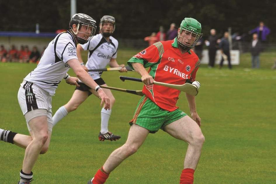 Hurling, (photo by Peter Mooney)