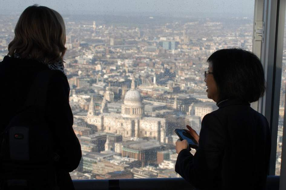 The View from the Shard, (photo by James Macdonald)