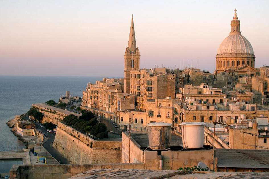 A view of Malta's capital, Valletta, (photo by Sylvaine Poitau)