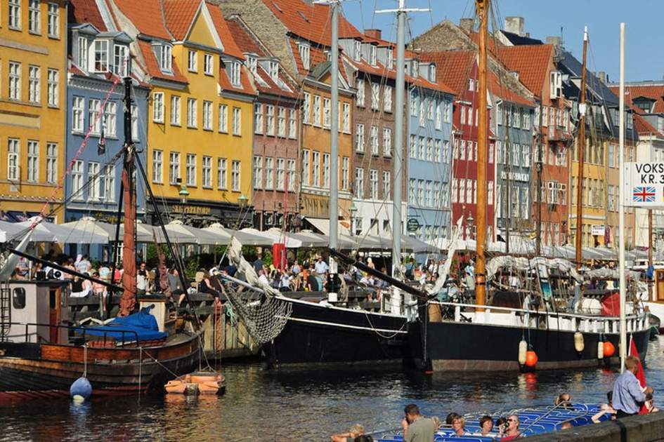 Nyhavn, Copenhagen, (photo by David Hall)