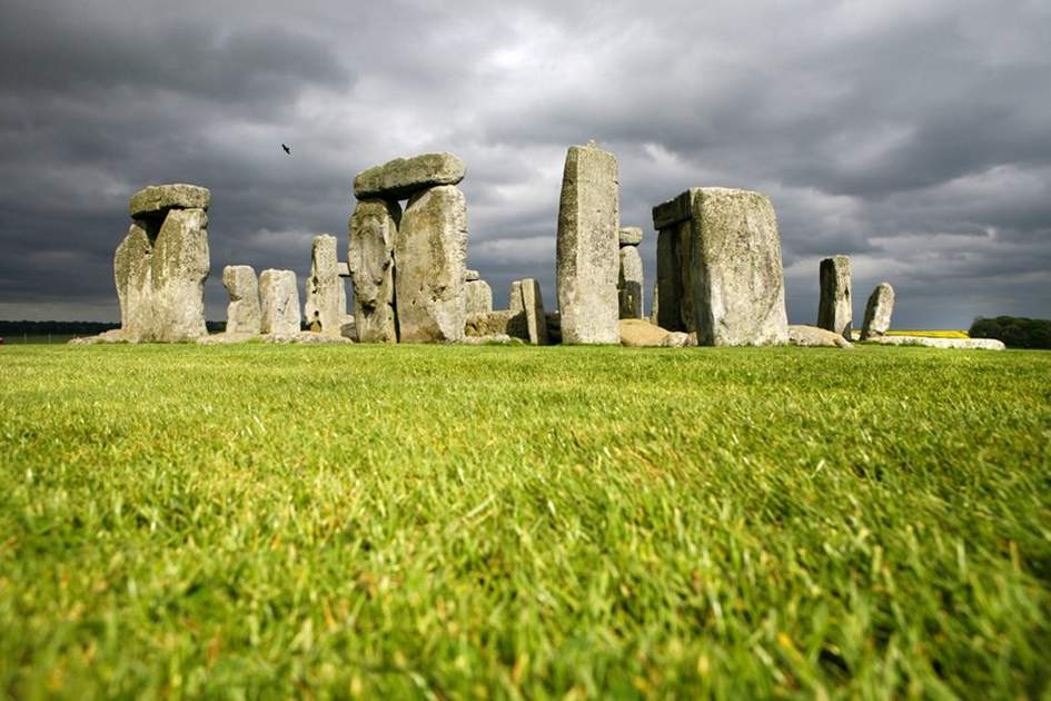 Stonehenge, (photo by Corrie Wingate)