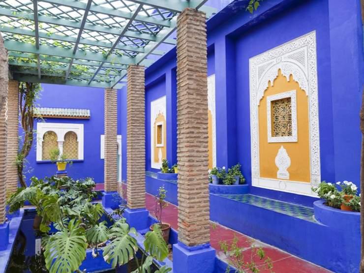 jardin majorelle marrakech - Majorelle Garden