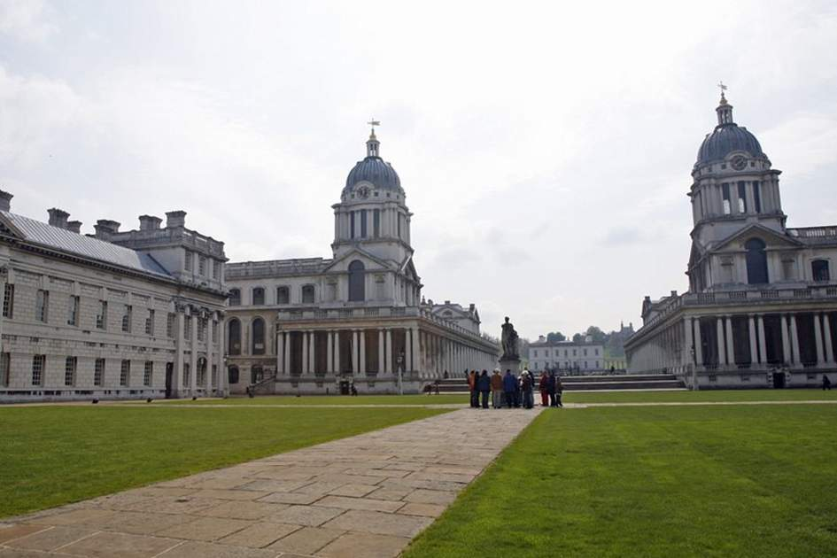 Royal Naval College, Greenwich, (photo by MT Evans)