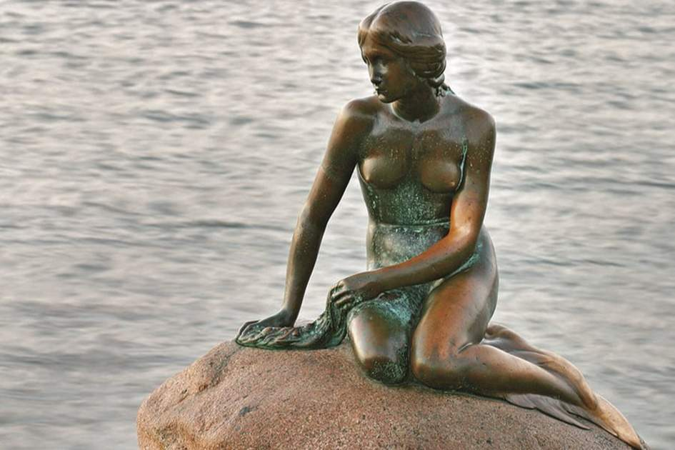 The Little Mermaid, Copenhagen, (photo by David Hall)