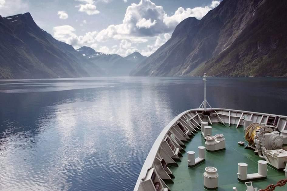 Geirangerfjorden, (photo by Glyn Genin)