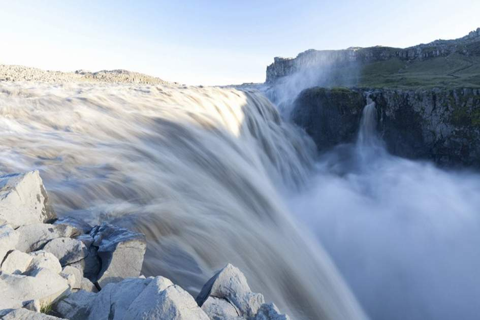Dettifoss waterfall, North East Iceland, (photo by Ming Tang-Evans)