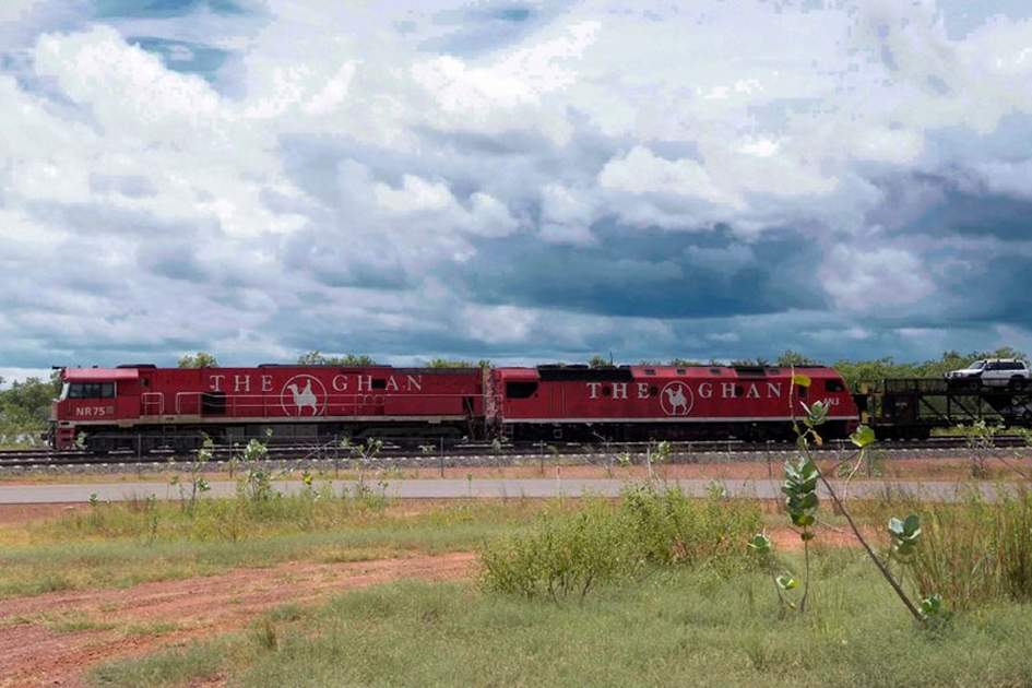 The Ghan – one of the world's most famous train journeys, (photo by Glyn Genin)
