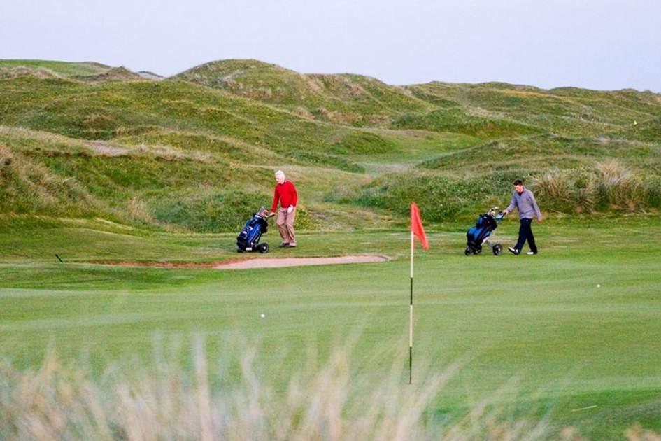 Strandhill golf course, County Sligo, (photo by Corrie WIngate)