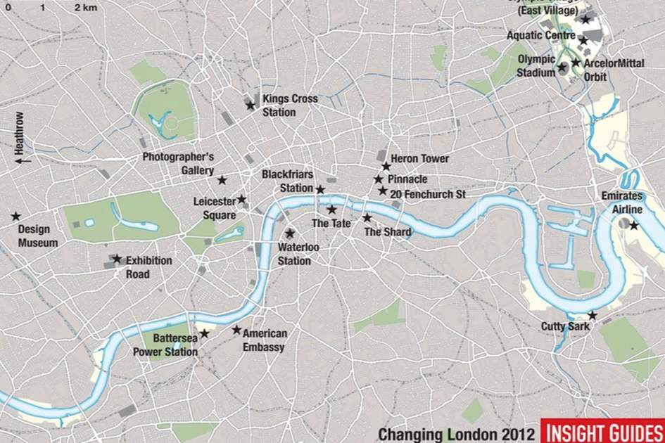 Changing London, (photo by Apa Cartography Dept.)