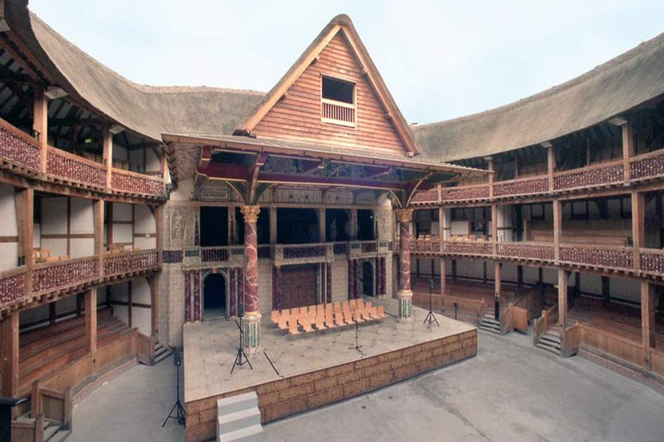 The Globe Theatre, (photo by Alisdair Macdonald)