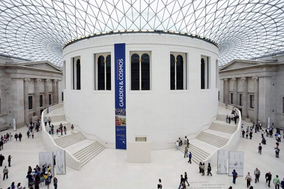 The Great Court, British Museum, (photo by Ming Tang-Evans)
