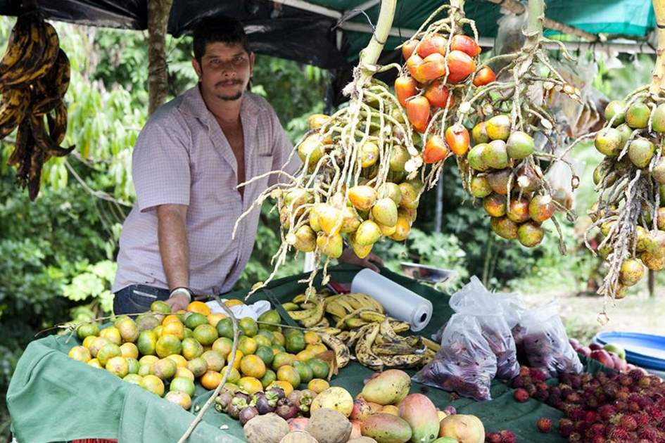 Fruit stall in Costa Rica. Photo: Shutterstock