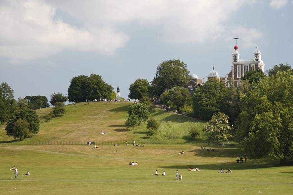 Greenwich Park, (photo by Ming Tang-Evans)