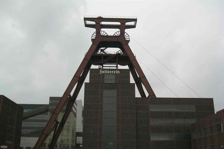 Zollverein Coal Mine in Essen, Germany, (photo by Astrid deRidder)
